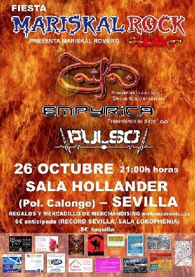 Concierto: Fiesta Mariscal Rock en Sala Höllander