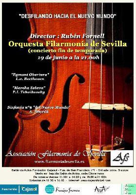 Concierto: Desfilando Hacia el Nuevo Mundo en Cajasol Sevilla