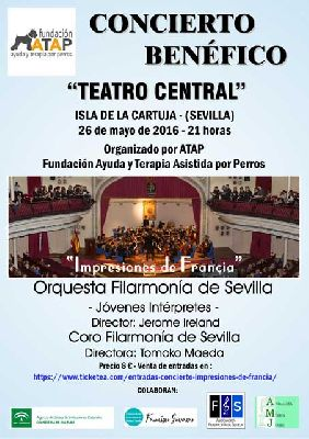 Concierto: Impresiones de Francia en el Teatro Central de Sevilla