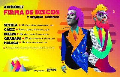 Firma de discos de Antílopez en Malandar Sevilla 2018