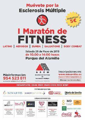 I Maratón Fitness Muévete por la esclerosis múltiple en Sevilla 2018
