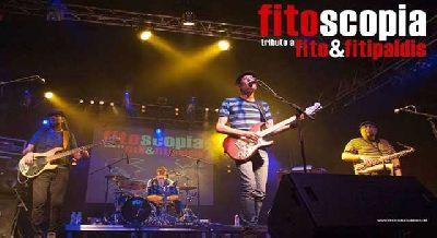 Foto promocional del grupo Fitoscopia (tributo a Fito y Fitipaldis)