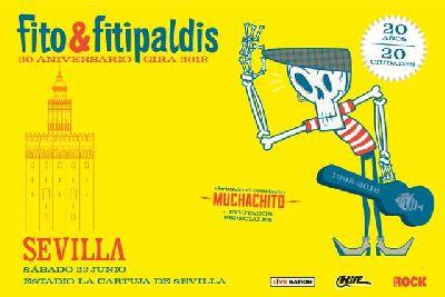 Concierto: Fito y Fitipaldis en Sevilla 2018