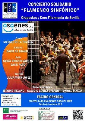 Flamenco: concierto a beneficio de Asaenes en el Teatro Central Sevilla