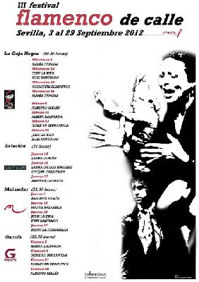 III Festival Flamenco de Calle 2012 (La Bienal Off)