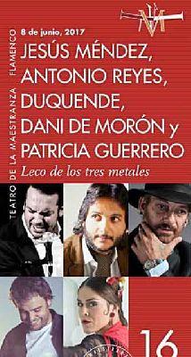 Flamenco: Leco de los tres metales en el Teatro de la Maestranza de Sevilla
