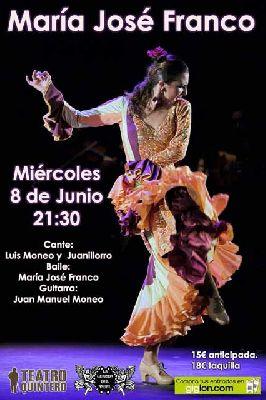 Flamenco: María José Franco en el Teatro Quintero de Sevilla