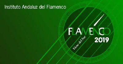 Cartel del ciclo Flamenco viene del sur 2019 en Sevilla