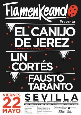 Concierto: Flamenkeando 2015 en el CAAC Sevilla (mayo)