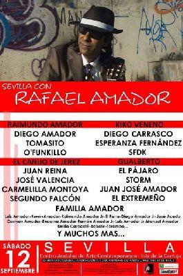 Concierto: Sevilla con Rafael Amador en el CAAC Sevilla