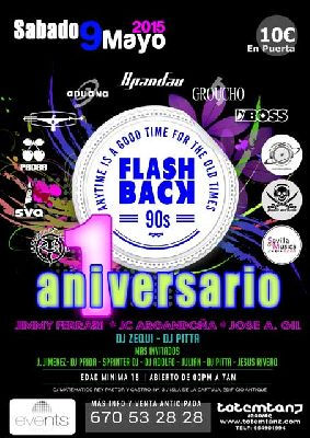 Flashback 90s en la Sala Events de Sevilla (mayo 2015)