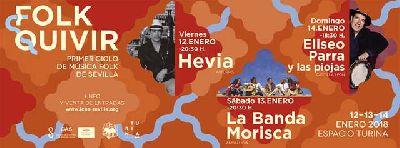 Conciertos: ciclo Folkquivir en el Espacio Turina de Sevilla