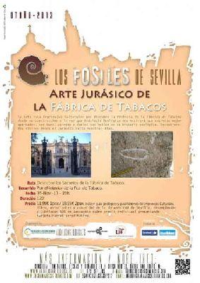 Los fósiles de la antigua Fábrica de Tabacos de Sevilla