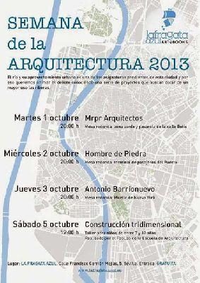 Semana de la Arquitectura en La Fragata Azul Sevilla