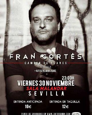 Concierto: Fran Cortés en Malandar Sevilla 2018