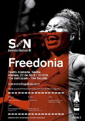 Concierto: Freedonia en el Teatro Alameda de Sevilla