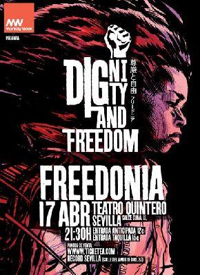 Concierto: Freedonia en el Teatro Quintero de Sevilla