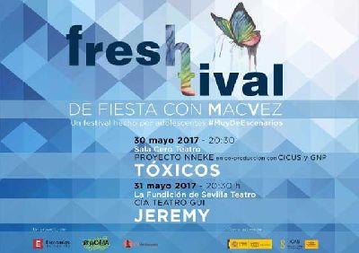 Teatro: Freshtival en la Sala Cero y La Fundición de Sevilla