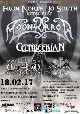 Concierto: From North To South Metal Fest en Custom Sevilla