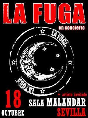 Concierto: La Fuga en Sevilla 2012 (Sala Malandar)