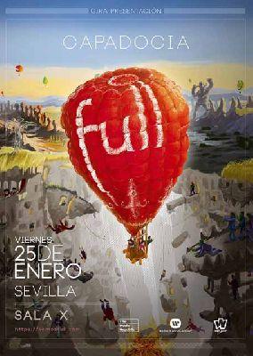 Cartel del concierto de Full en la Sala X de Sevilla