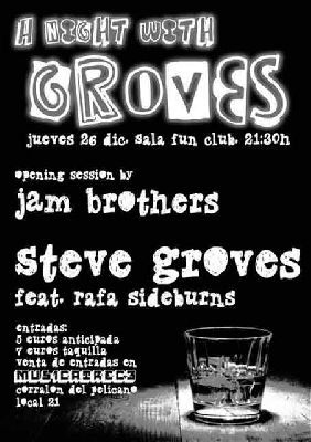 Concierto: A night with groves en FunClub Sevilla
