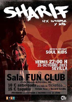 Concierto: Sharif en Sevilla (FunClub)