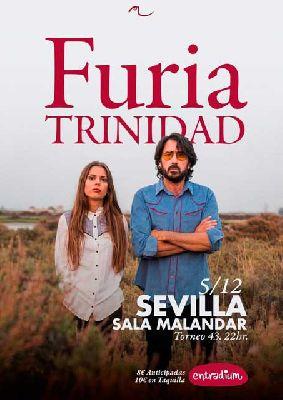 Concierto: Furia Trinidad en Malandar Sevilla 2017
