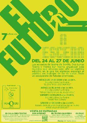 Teatro: El futuro a escena 2015 en la Sala Cero Sevilla