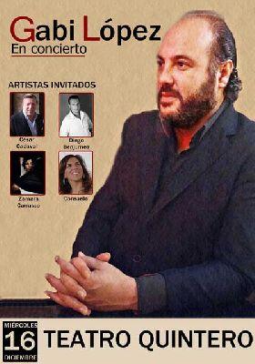 Concierto: Gabi López en el Teatro Quintero de Sevilla