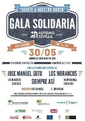 XIX Gala Benéfica de Autismo Sevilla 2018