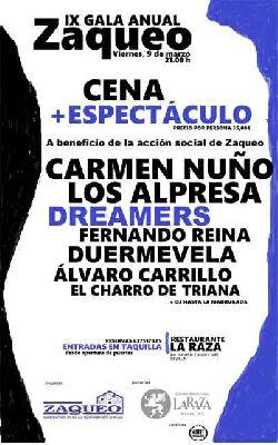 IX Gala benéfica Zaqueo en Sevilla 2018