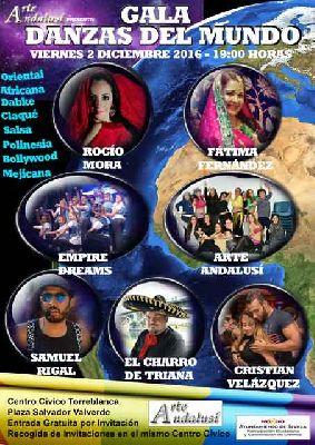 Gala Danzas del Mundo en Sevilla 2016