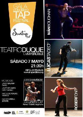 Gala del Festival SunTap de Claque 2016 en La Imperdible de Sevilla