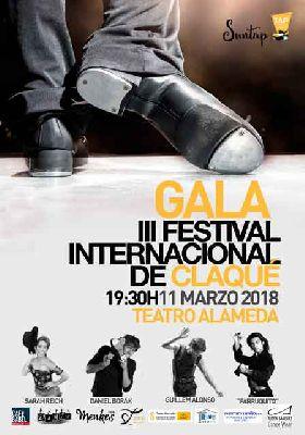 Gala del Festival SunTap de Claqué 2018 en el Teatro Alameda de Sevilla