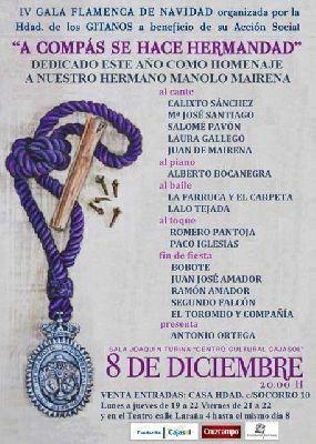 IV Gala Flamenca de Navidad de los Gitanos 2013