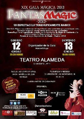 Fantasmagic en la XIX Gala Mágica de Sevilla