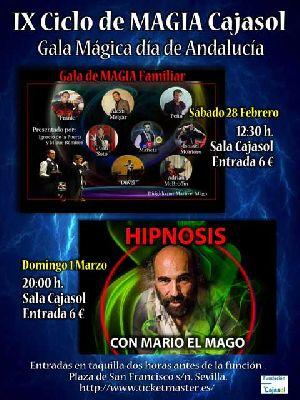 Gala Mágica Día de Andalucía 2015 en Cajasol Sevilla
