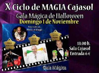 Gala Mágica de Halloween 2015 en Cajasol Sevilla