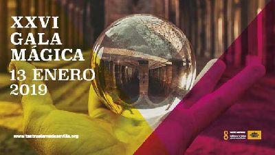 Cartel de la Gala Mágica de Sevilla 2019