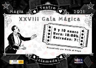 Cartel de la Gala Mágica de Sevilla 2021