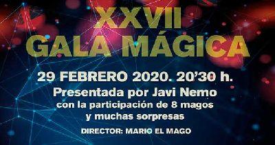 Cartel de la Gala Mágica de Sevilla en el Teatro Alameda de Sevilla 2020