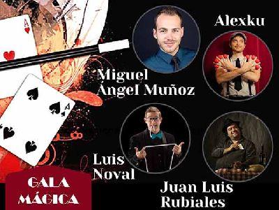 Cartel de la Gala Mágica en el Centro TNT-Atalaya de Sevilla 2021