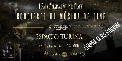 Concierto: I Gala Original Sound Track en el Espacio Turina de Sevilla