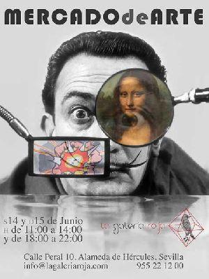 VI Mercado de Arte en la Galería Roja Sevilla