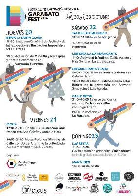 Garabato Fest 2016 Festival de la Ilustración de Sevilla