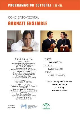 Concierto: Garnati Ensemble en el CSM Manuel Castillo de Sevilla