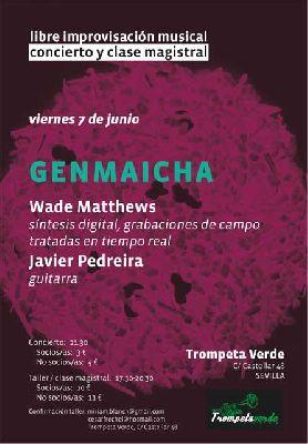 Concierto: Genmaicha en la Trompeta Verde Sevilla