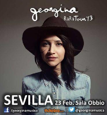 Concierto: Georgina en Sevilla (Sala Obbio)