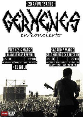 Concierto: Gérmenes en Malandar Sevilla